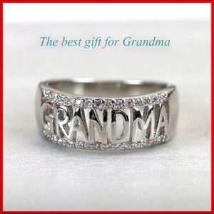 Silver Grandma Ring